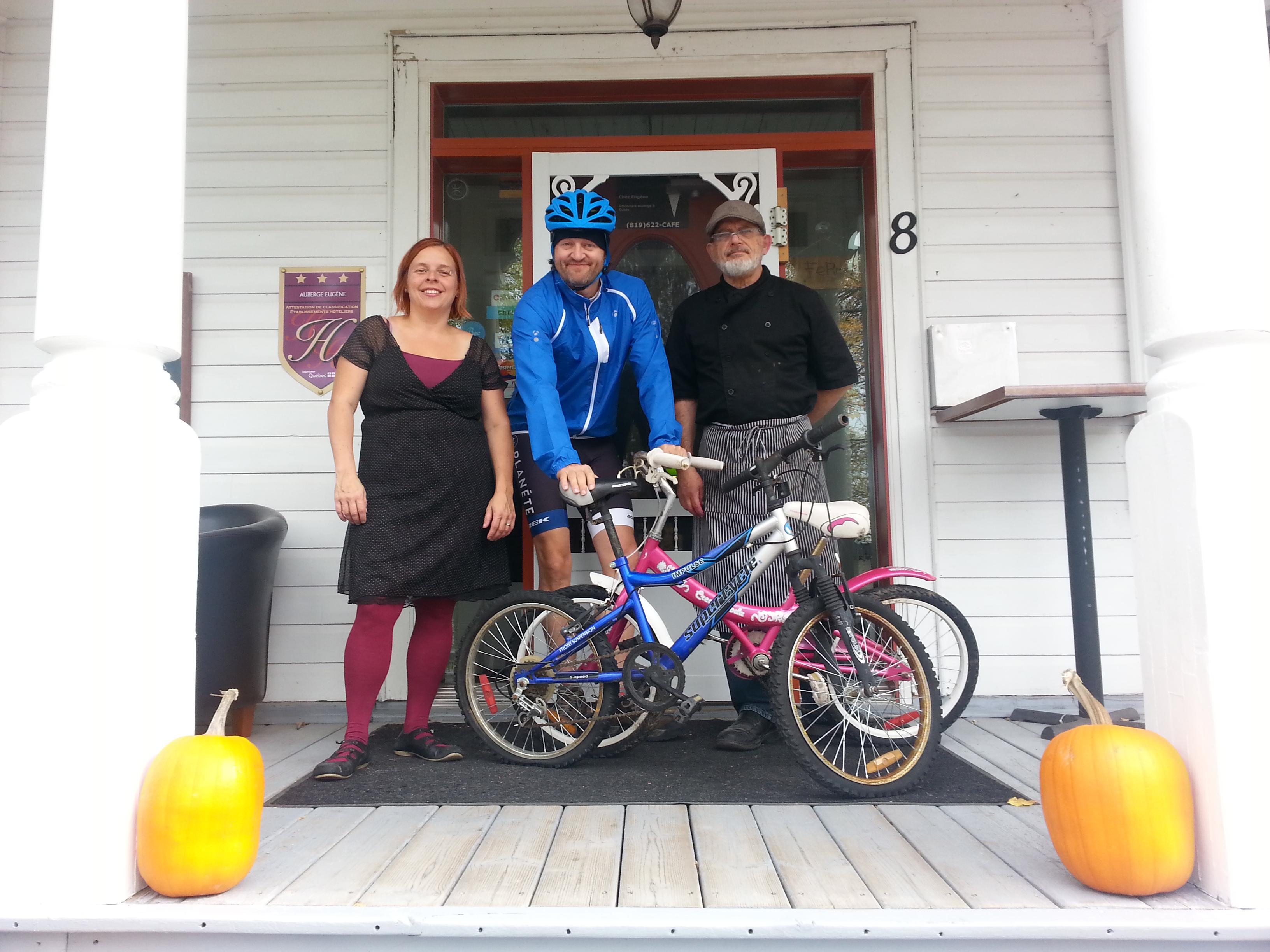 vélos usagés écolo collecte