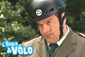 michel courtemanche l'écolo à vélo