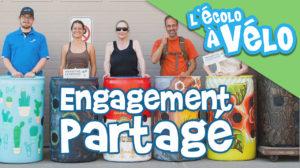 engagement partage Trois-Rivières Mauricie écolo vélo